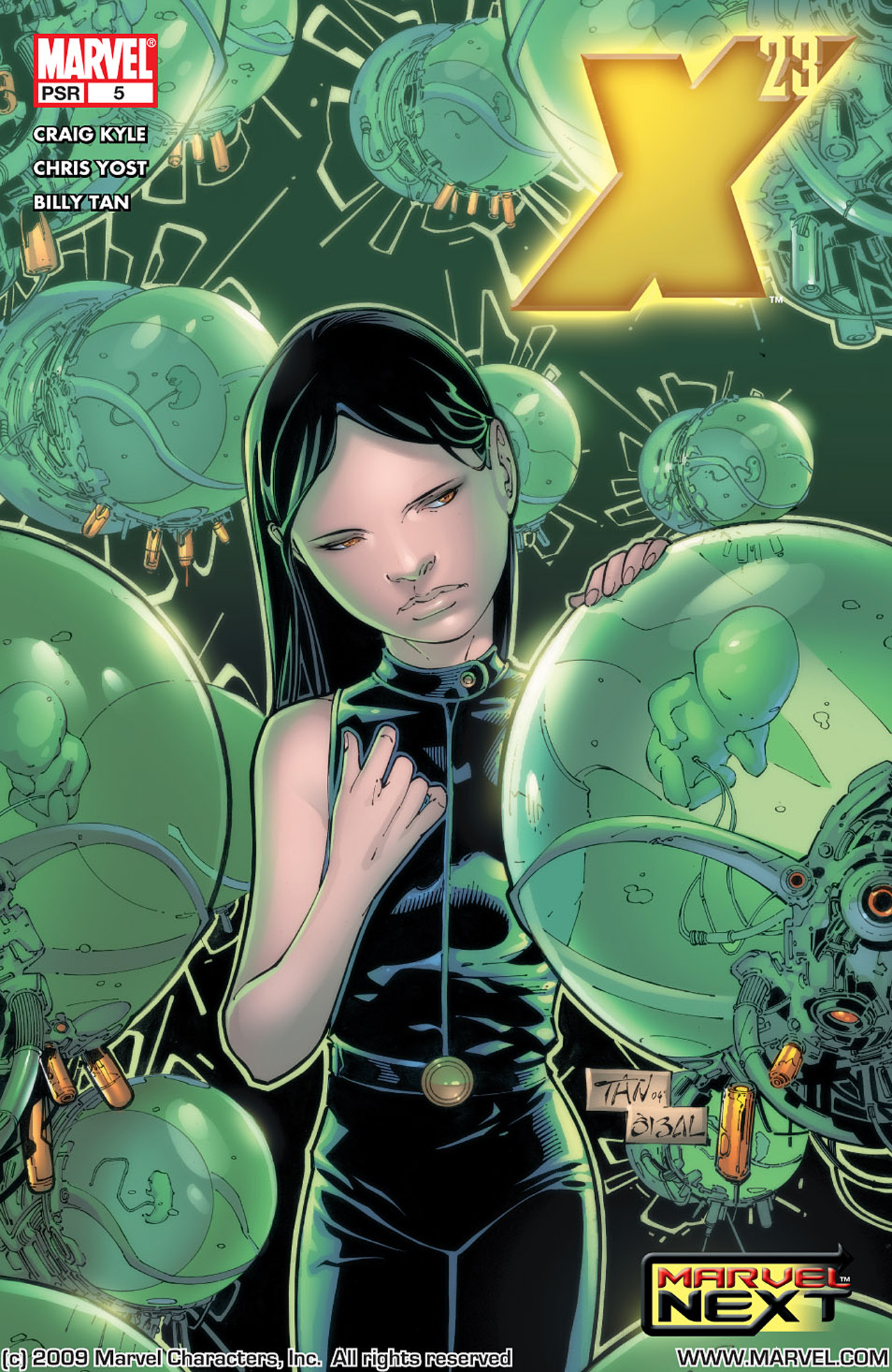 Read online X-23 (2005) comic -  Issue #5 - 1