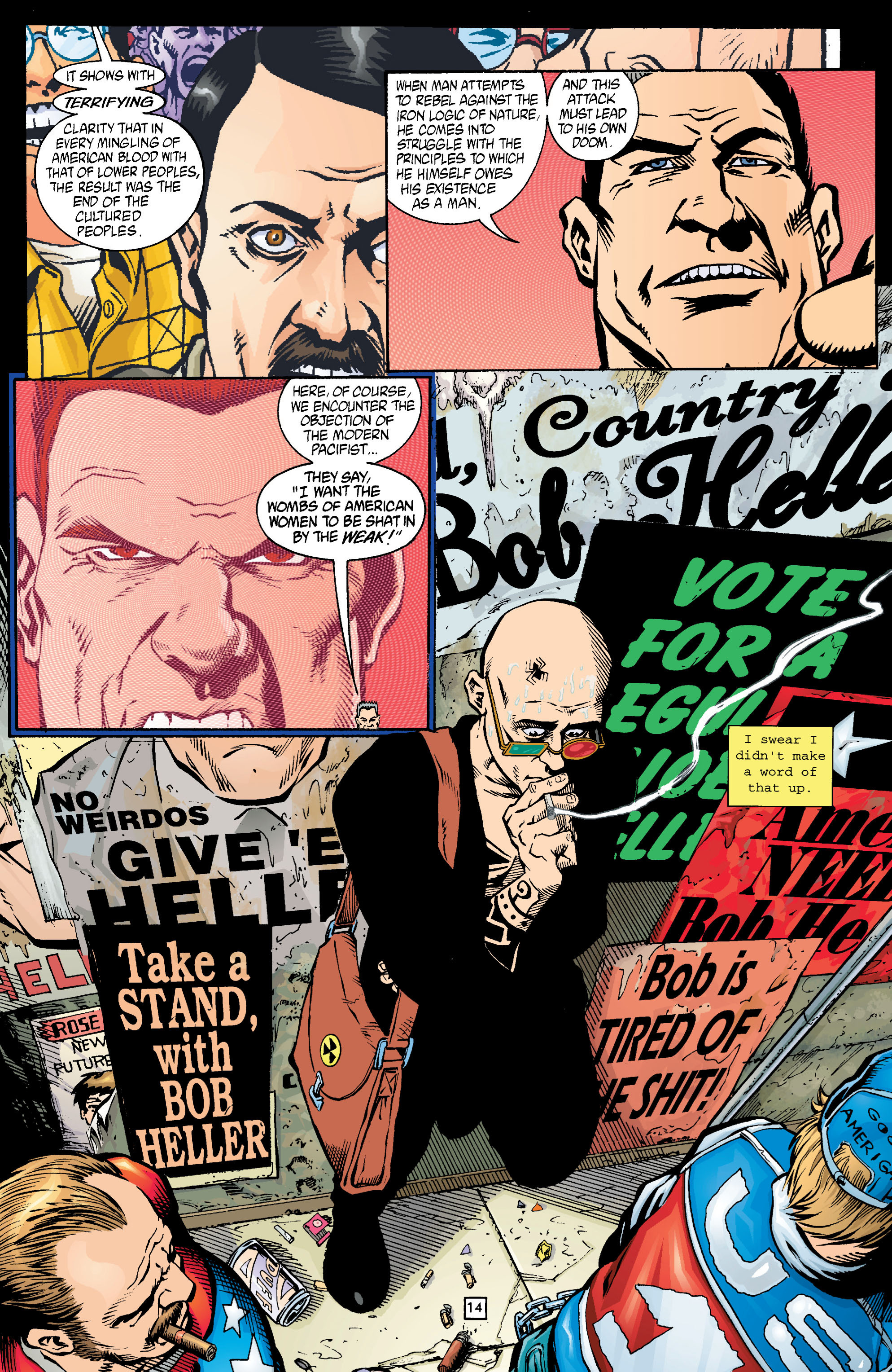 Read online Transmetropolitan comic -  Issue #15 - 15