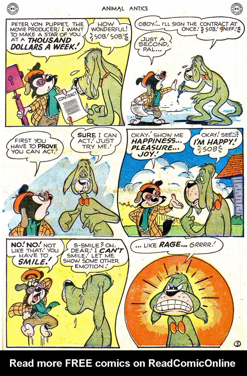 Read online Animal Antics comic -  Issue #17 - 21