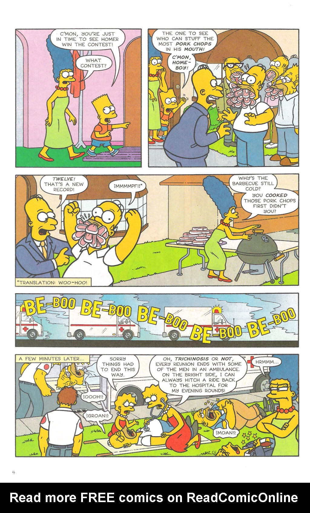 Read online Simpsons Comics comic -  Issue #111 - 5