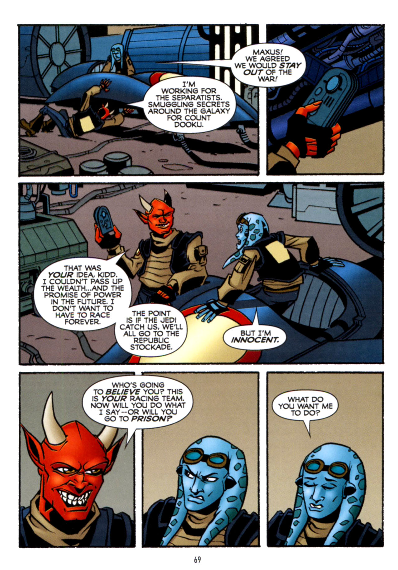 Read online Star Wars: The Clone Wars - Crash Course comic -  Issue # Full - 70