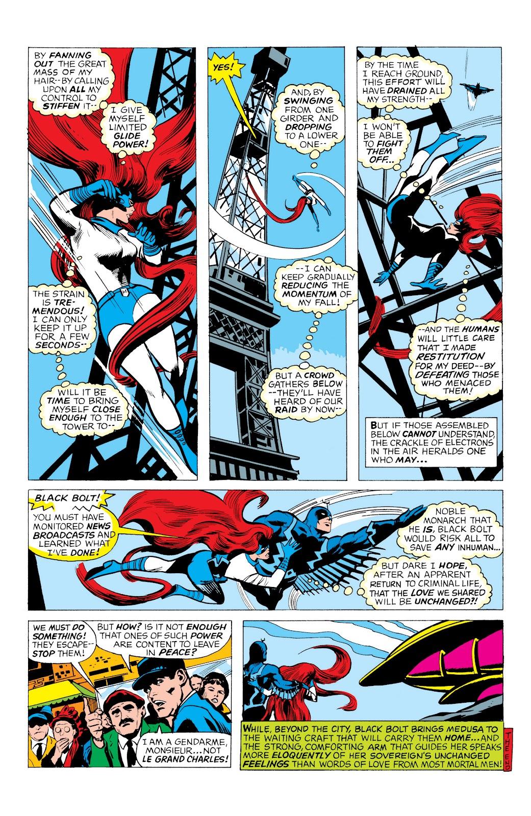Read online Marvel Masterworks: The Inhumans comic -  Issue # TPB 1 (Part 1) - 68