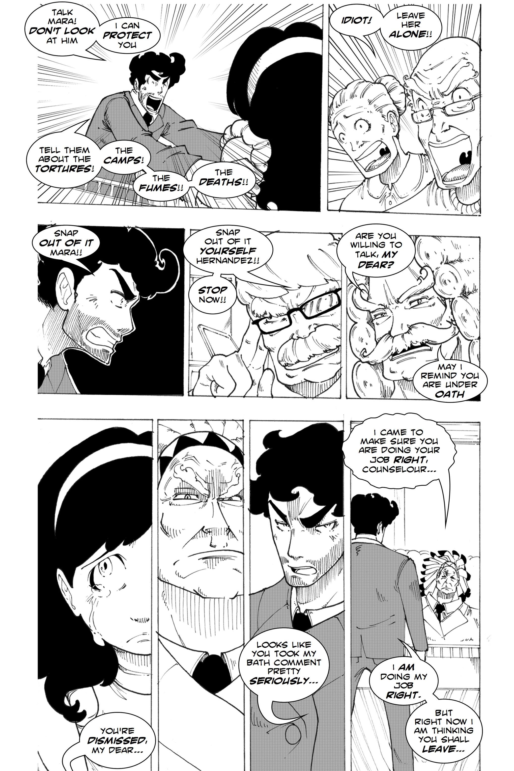 Read online Silvertongue 30xx Vol. 1 comic -  Issue # Full - 51
