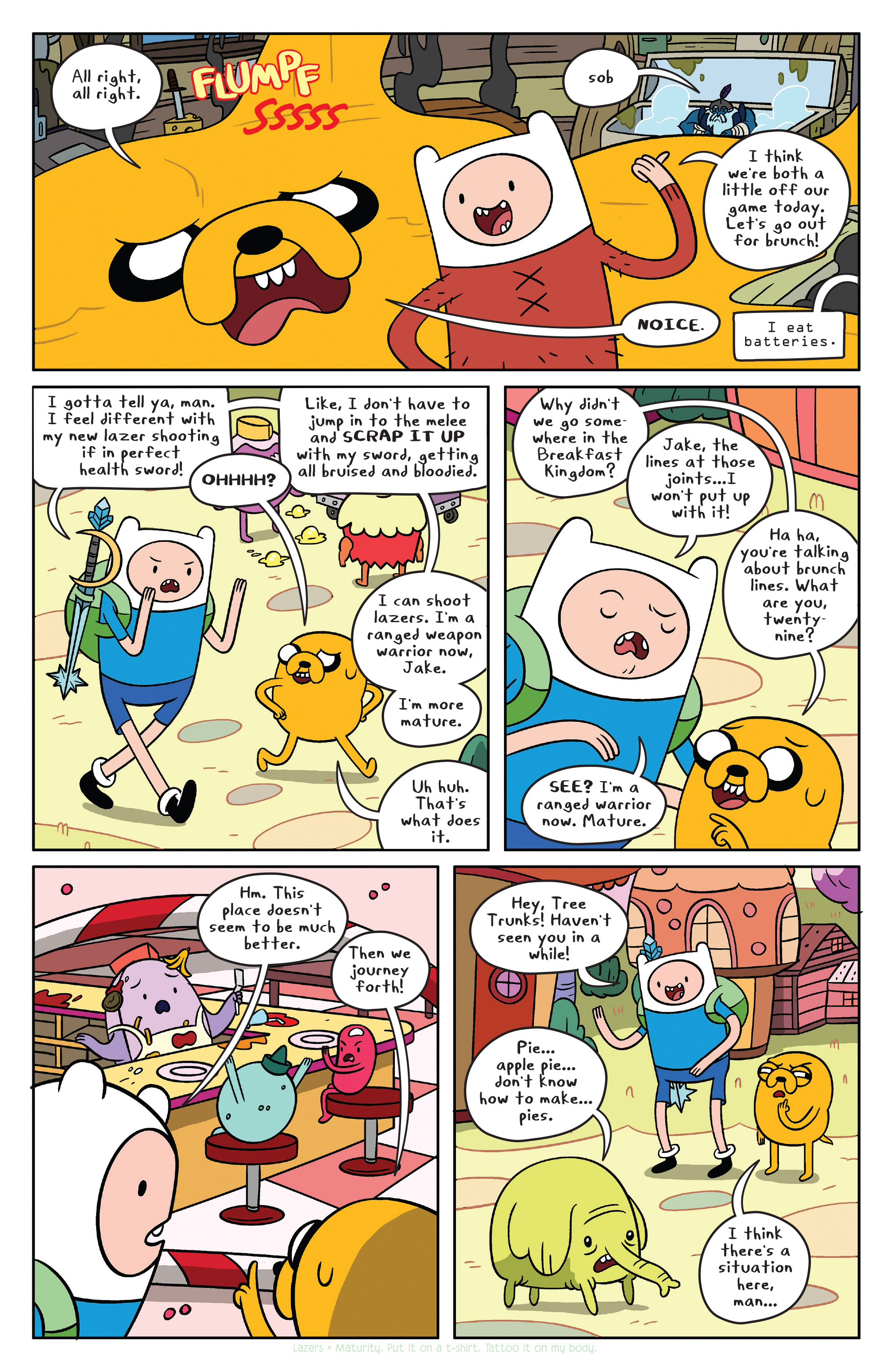 Read online Adventure Time comic -  Issue #37 - 6
