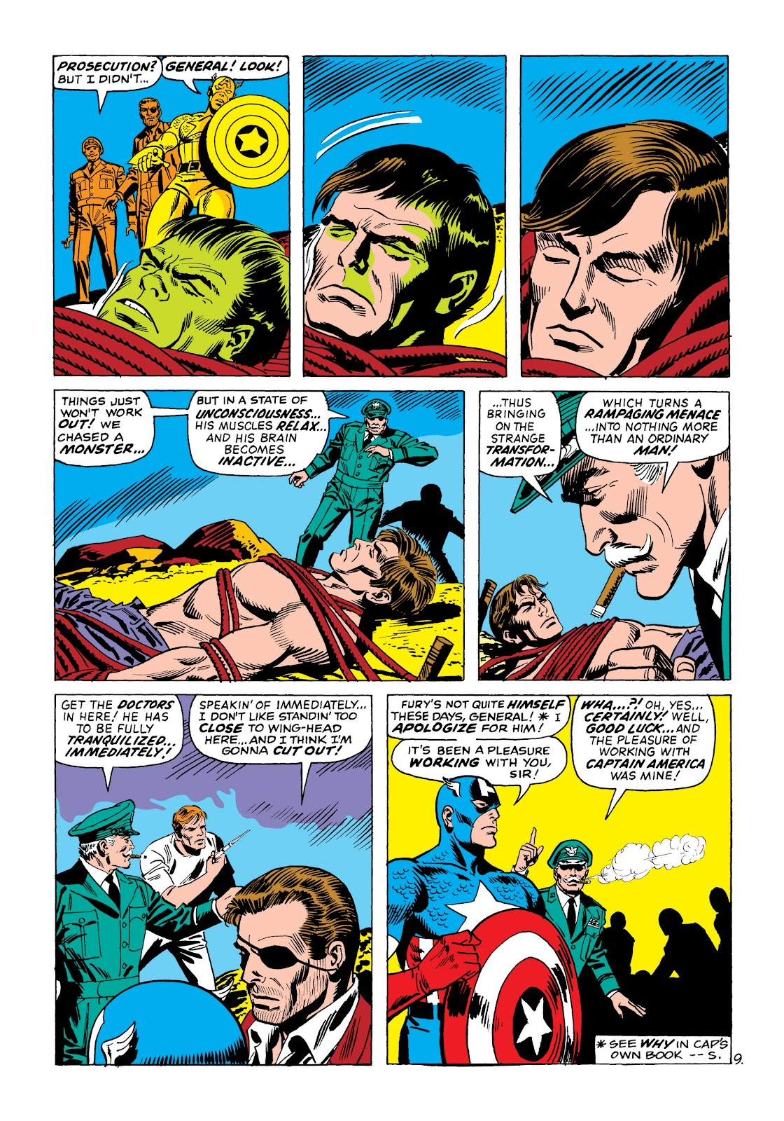 Read online Marvel Masterworks: The Incredible Hulk comic -  Issue # TPB 8 (Part 2) - 83