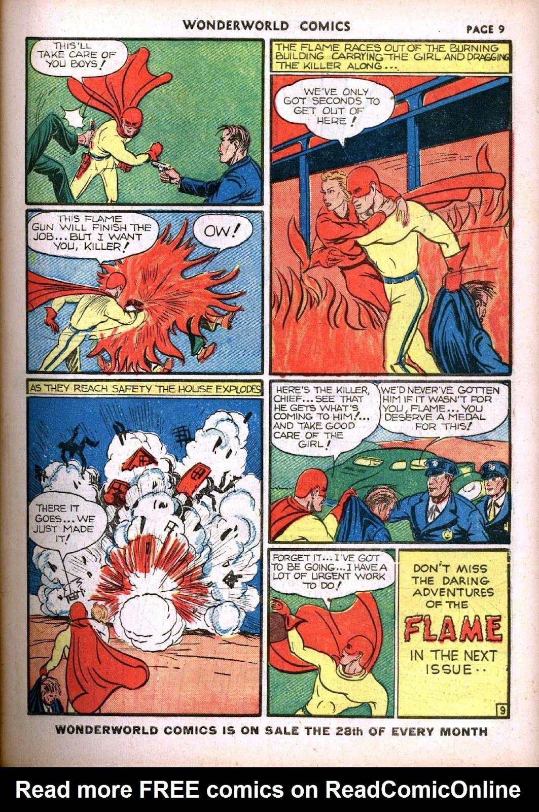 Wonderworld Comics issue 14 - Page 11