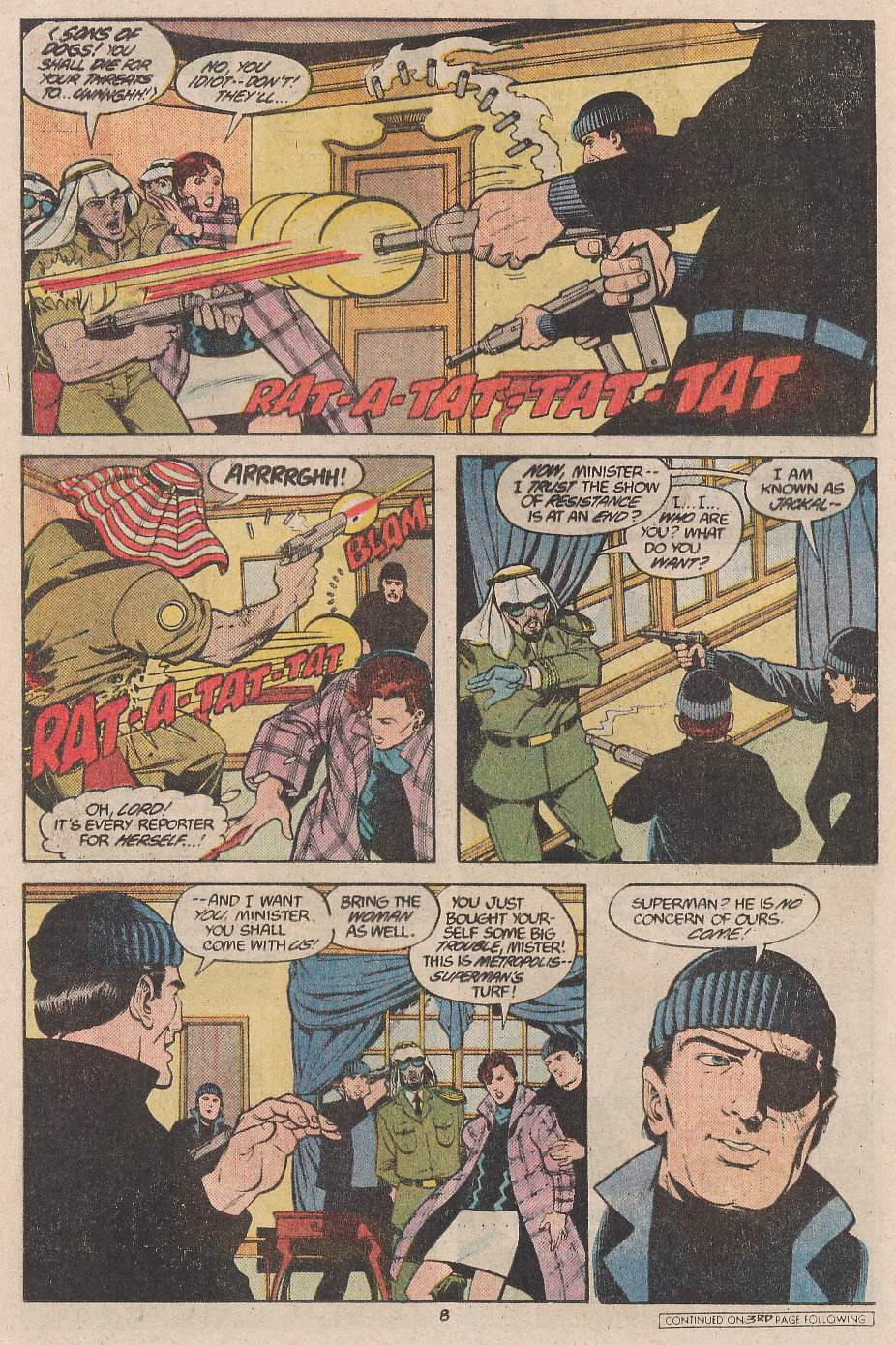 Read online Action Comics (1938) comic -  Issue #598 - 9