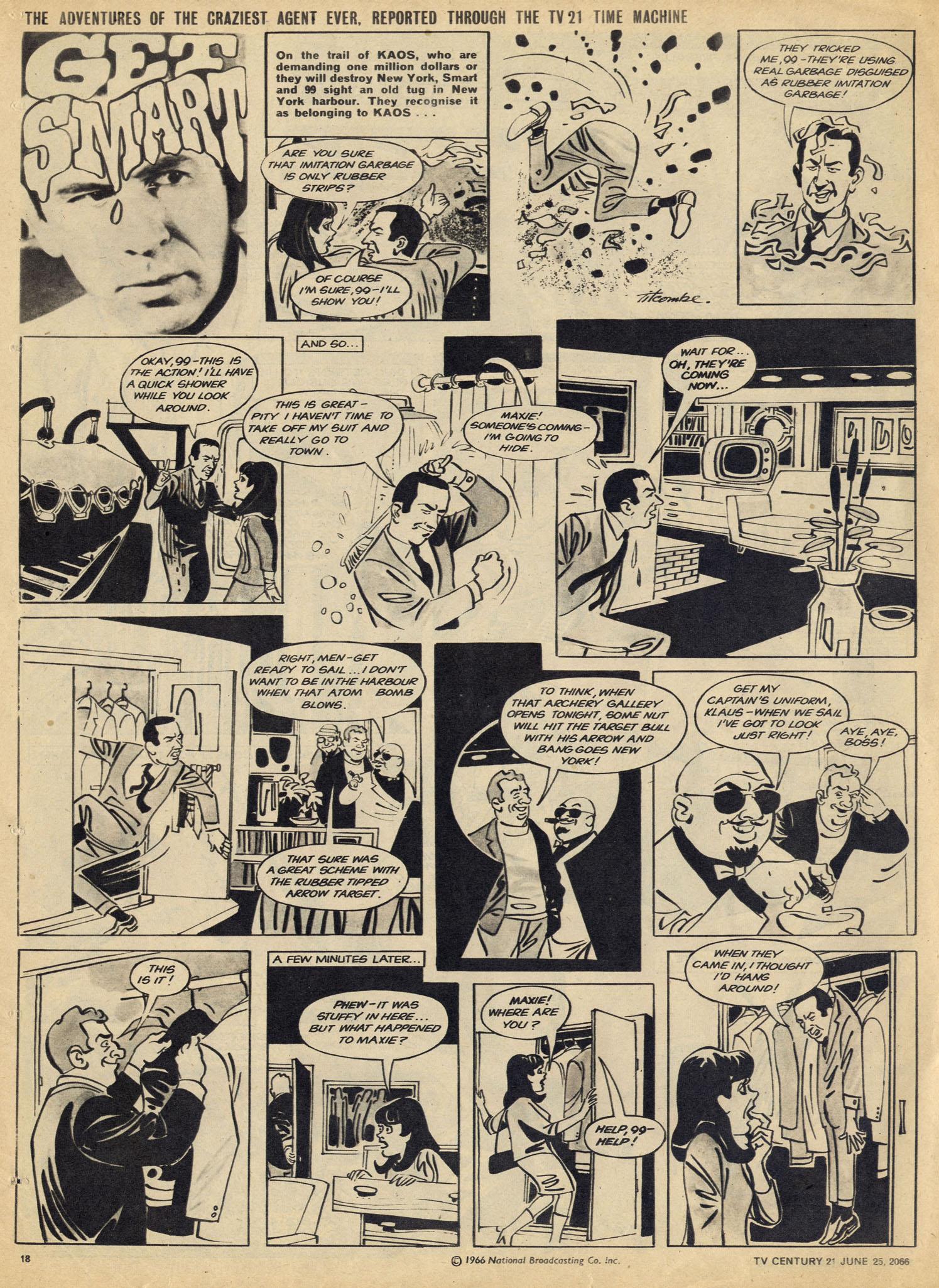 Read online TV Century 21 (TV 21) comic -  Issue #75 - 17