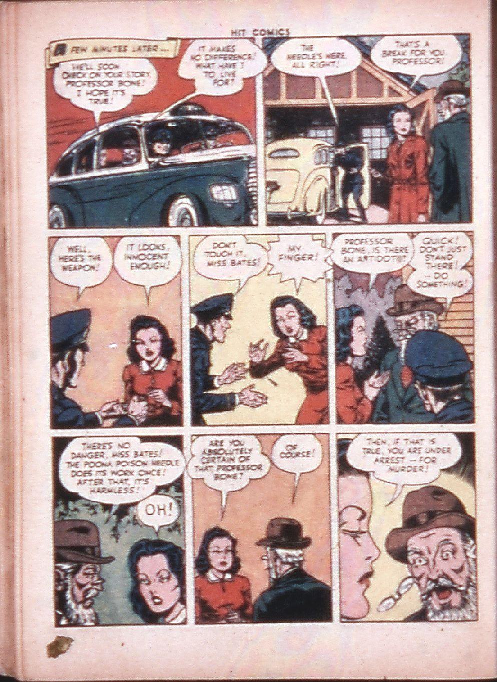 Read online Hit Comics comic -  Issue #33 - 35