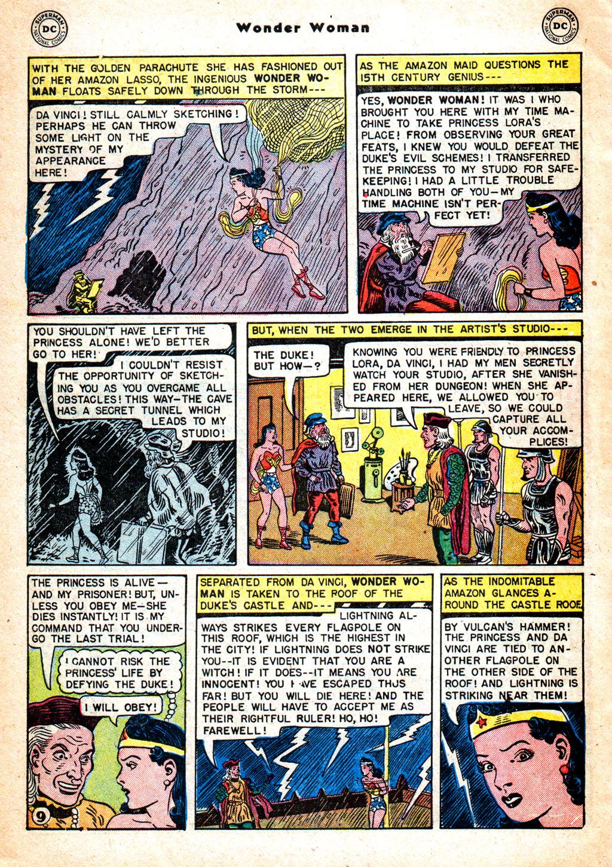 Read online Wonder Woman (1942) comic -  Issue #57 - 39