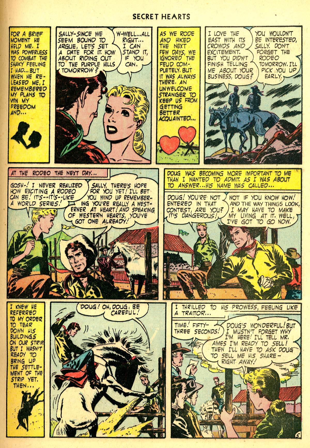 Read online Secret Hearts comic -  Issue #6 - 25