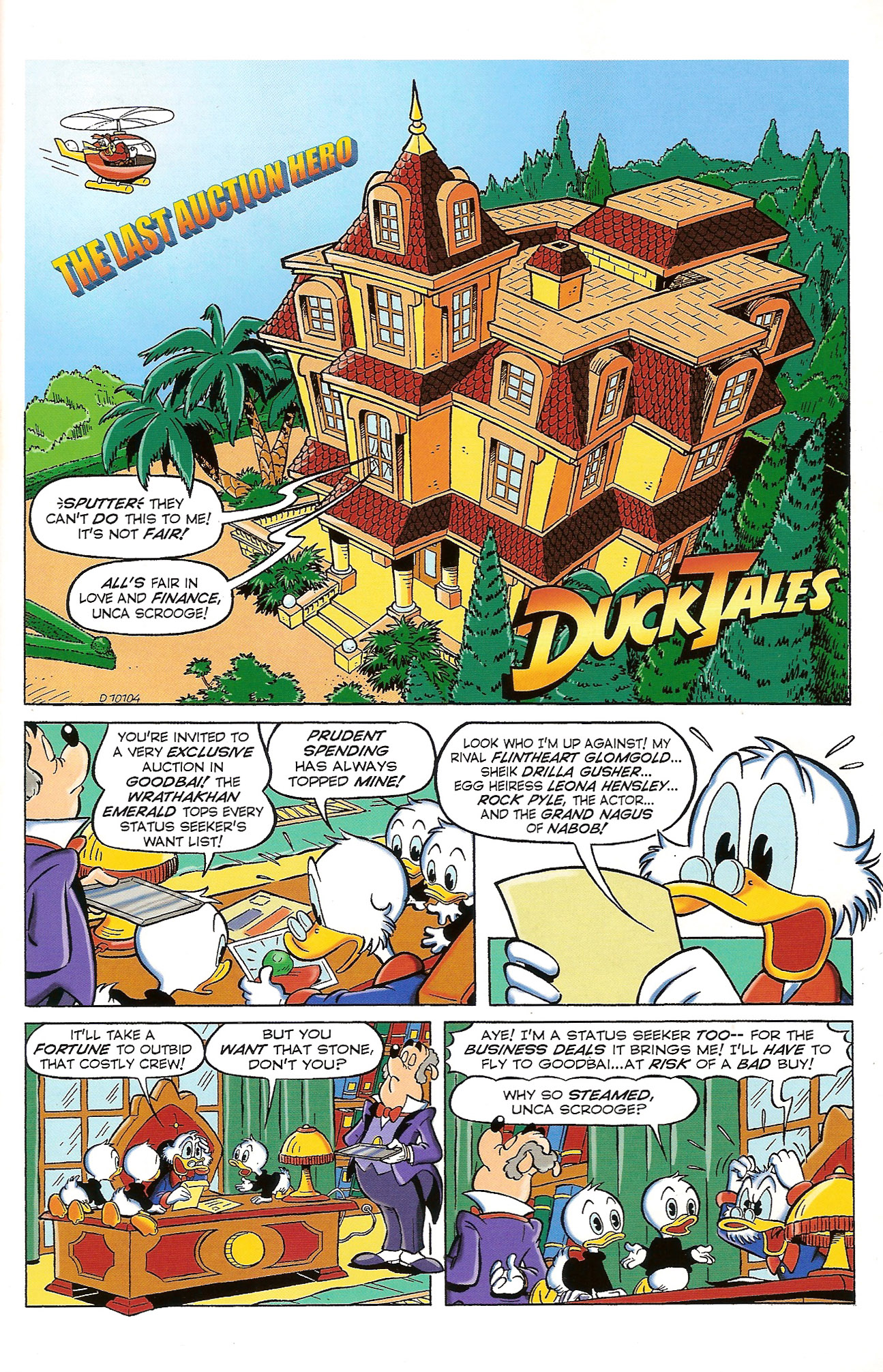 Read online Uncle Scrooge (1953) comic -  Issue #397 - 3