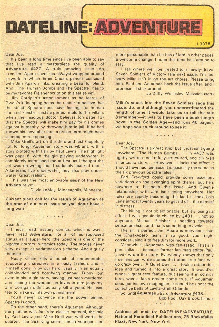 Read online Adventure Comics (1938) comic -  Issue #440 - 25