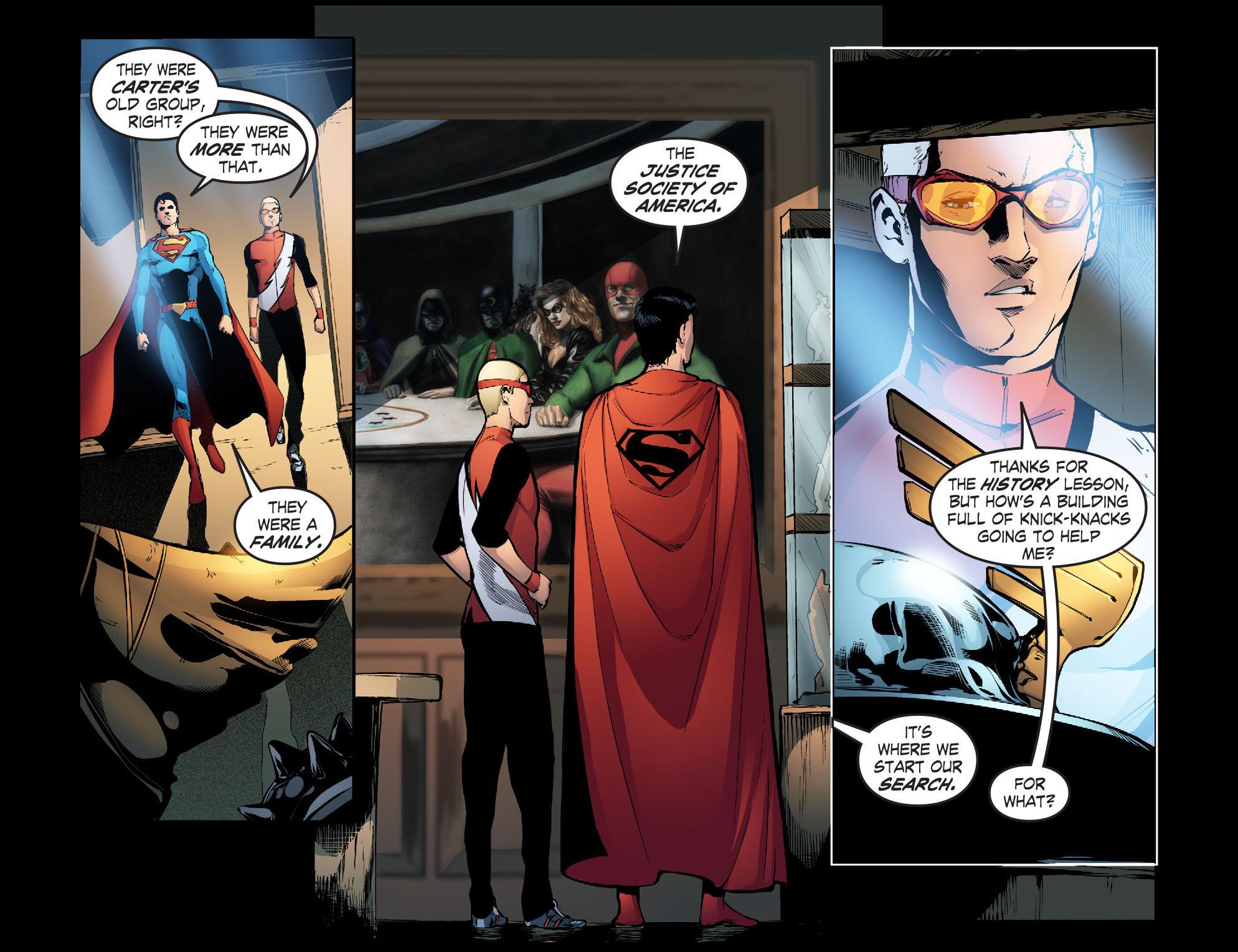 Read online Smallville: Season 11 comic -  Issue #31 - 17