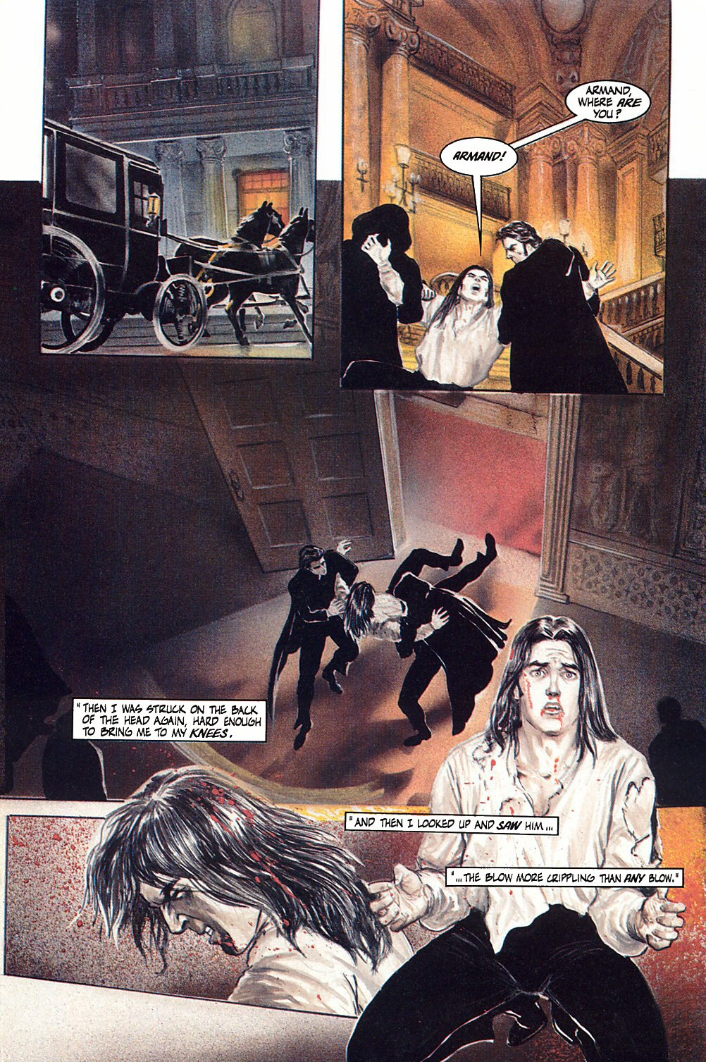 Read online Anne Rice's Interview with the Vampire comic -  Issue #10 - 31