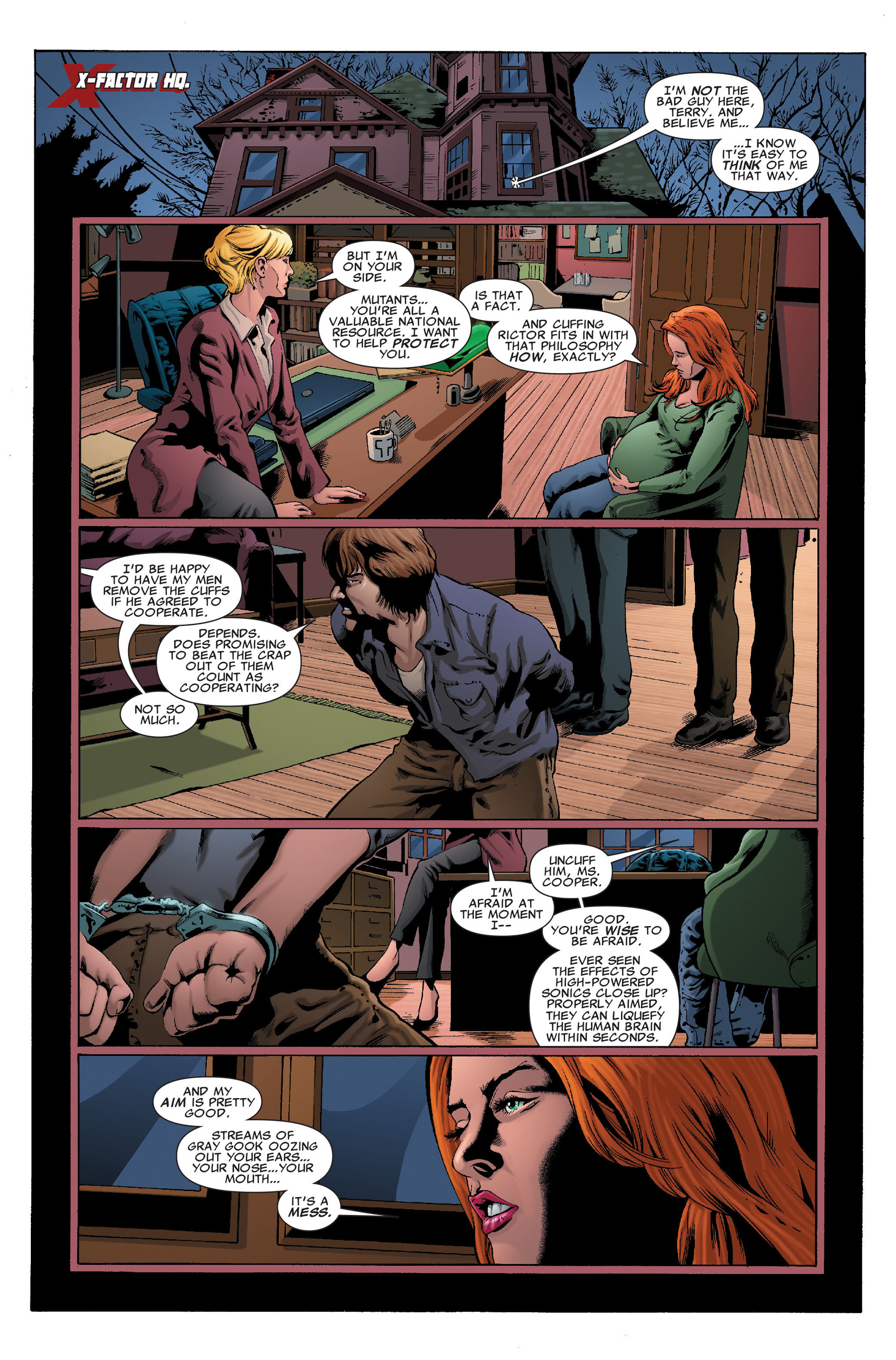 Read online X-Factor (2006) comic -  Issue #37 - 3