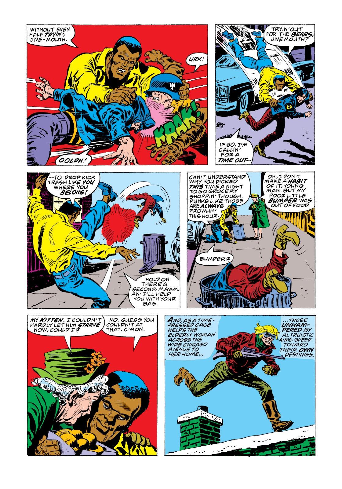 Read online Marvel Masterworks: Luke Cage, Power Man comic -  Issue # TPB 3 (Part 3) - 87