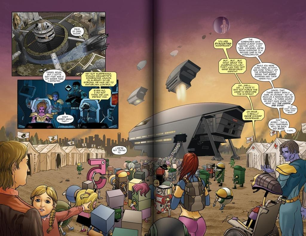 Read online ReBoot: Paradigms Lost comic -  Issue # Full - 3