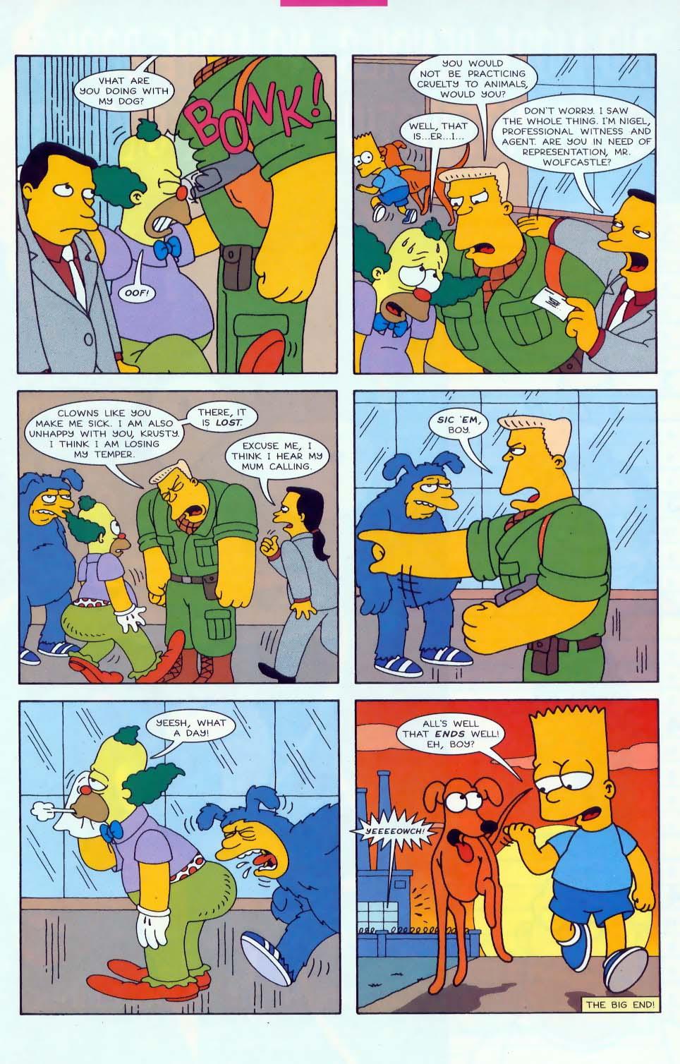 Read online Simpsons Comics comic -  Issue #45 - 22
