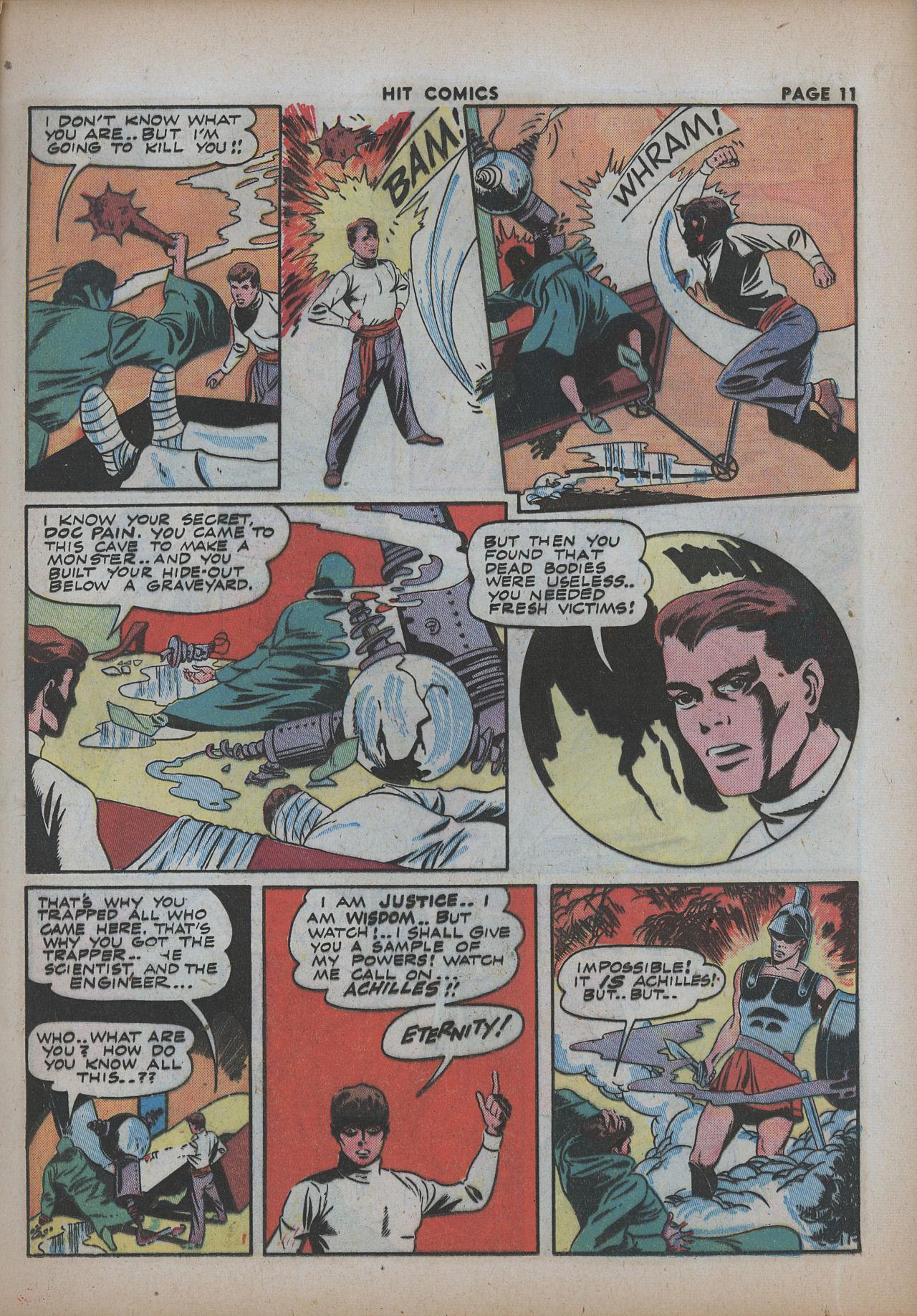 Read online Hit Comics comic -  Issue #26 - 13