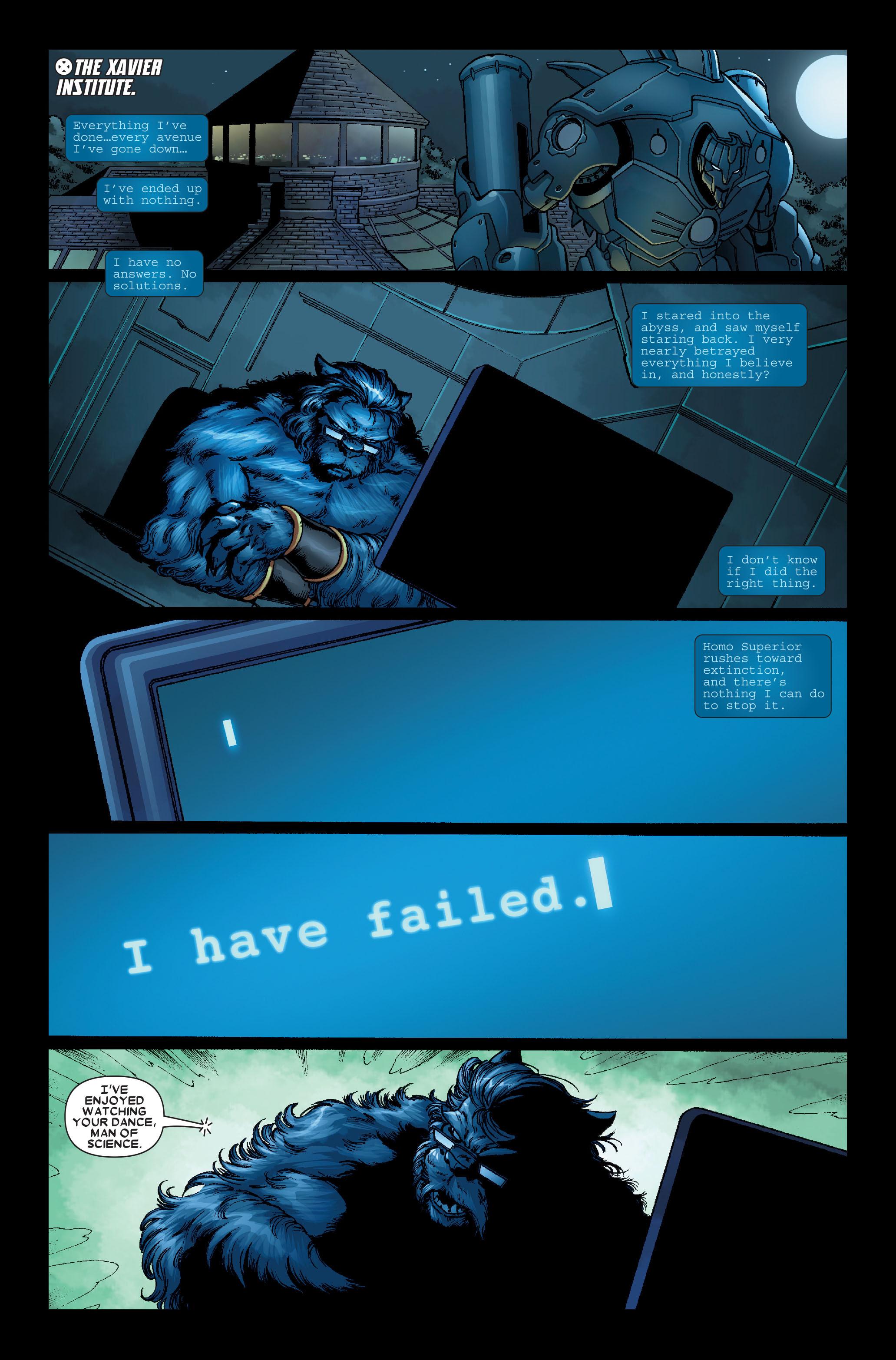 Read online Uncanny X-Men (1963) comic -  Issue #491 - 25