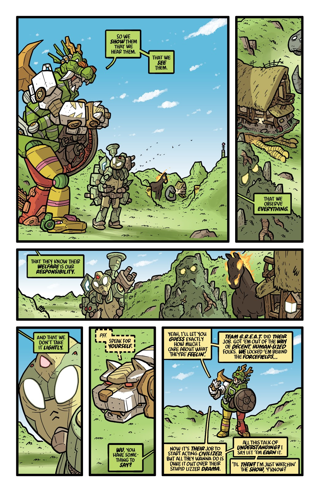 Read online Kaijumax: Season Four comic -  Issue #5 - 14