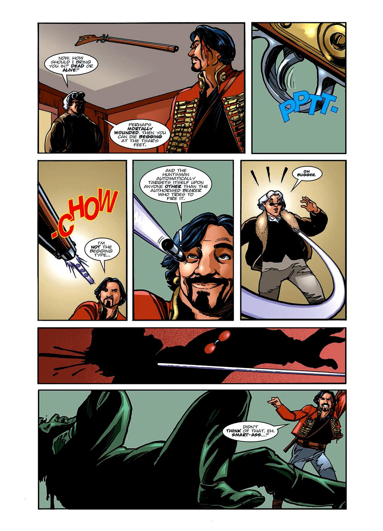 Read online Nikolai Dante comic -  Issue # TPB 6 - 74