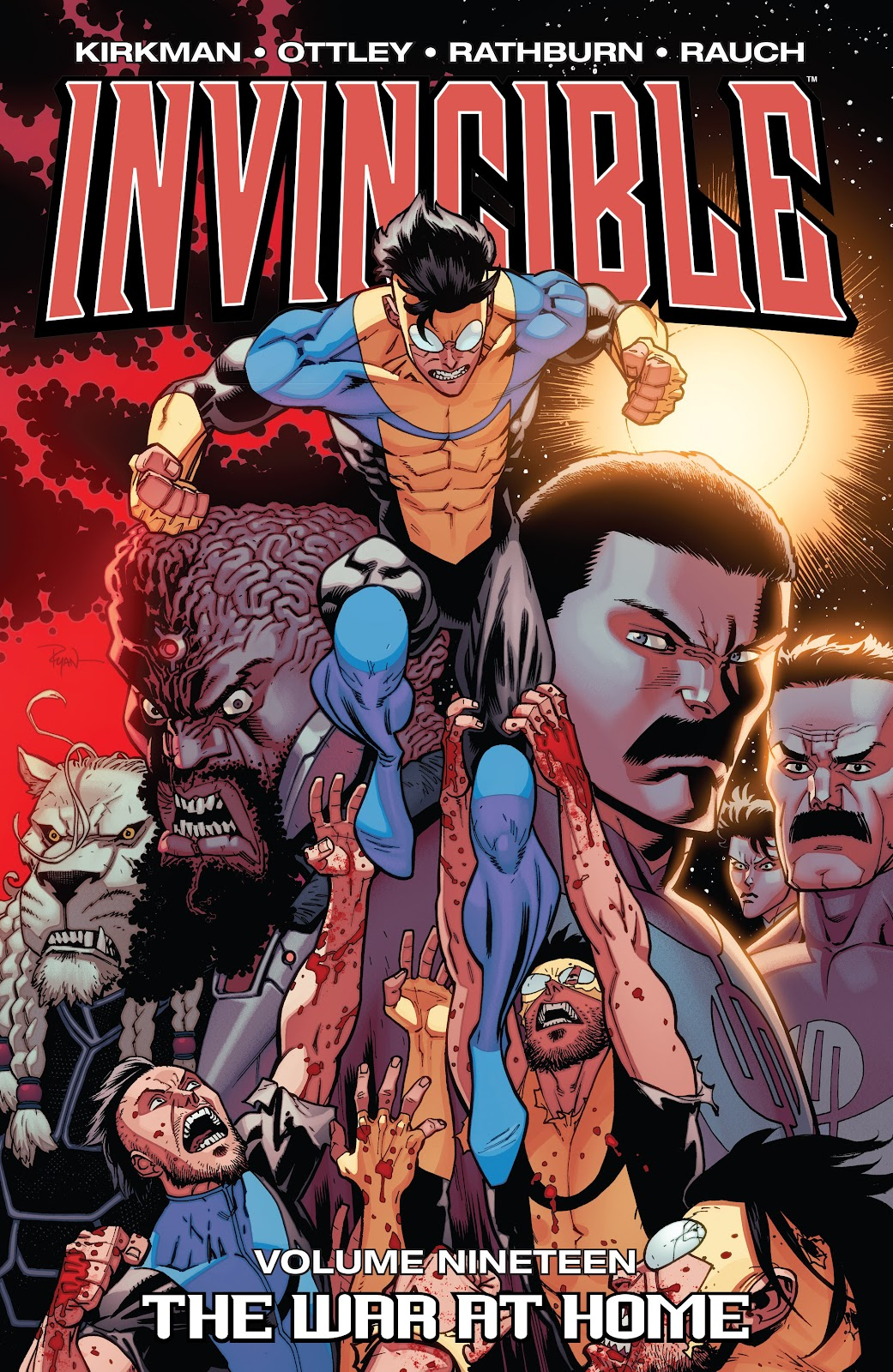 Invincible (2003) _TPB_19_-_The_War_at_Home Page 1
