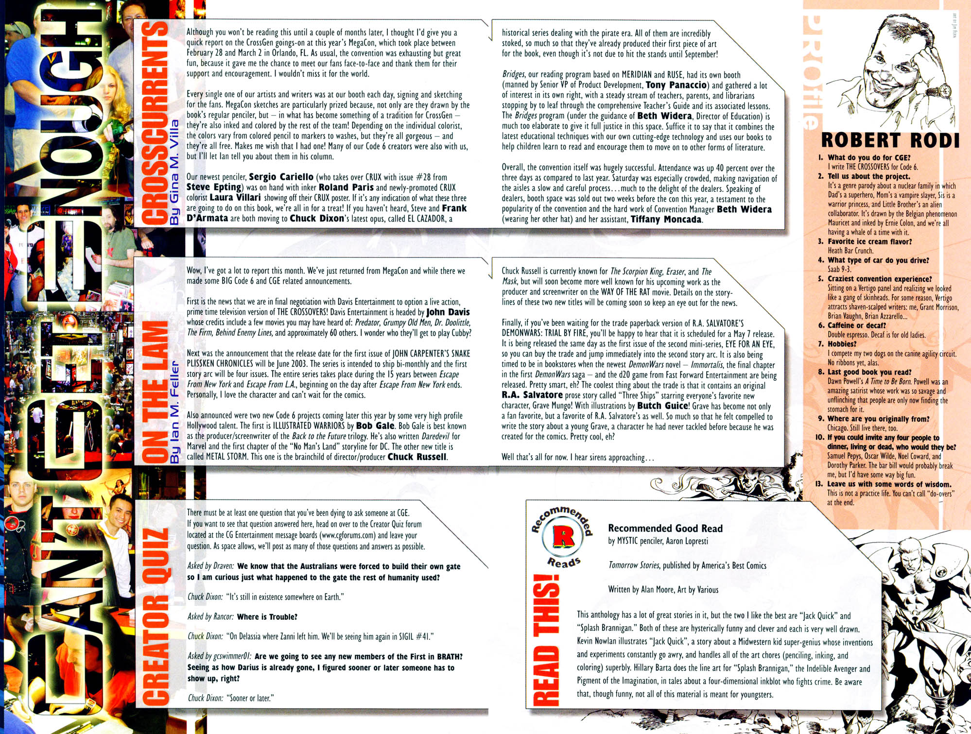 Read online Sigil (2000) comic -  Issue #35 - 25