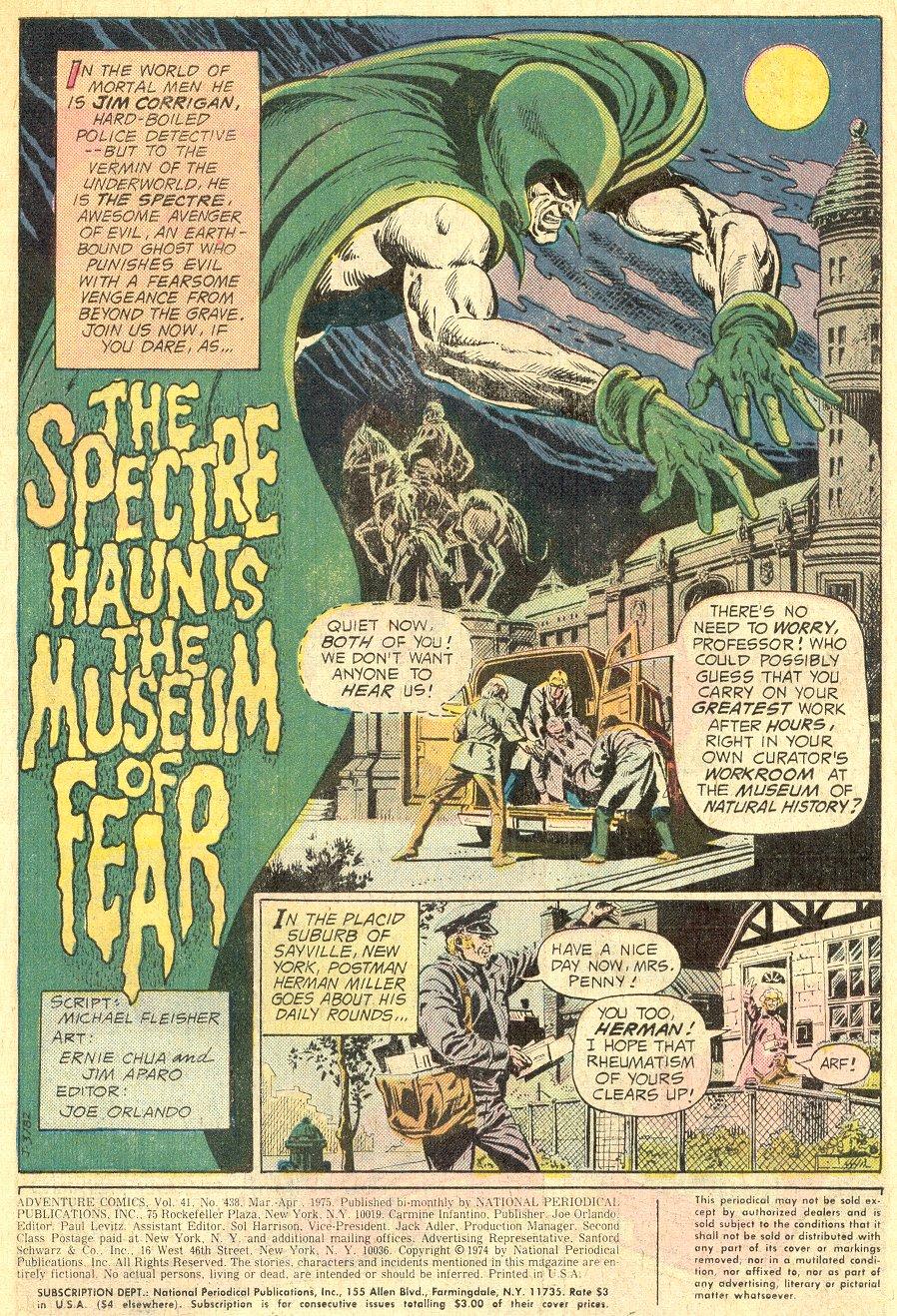 Read online Adventure Comics (1938) comic -  Issue #438 - 2