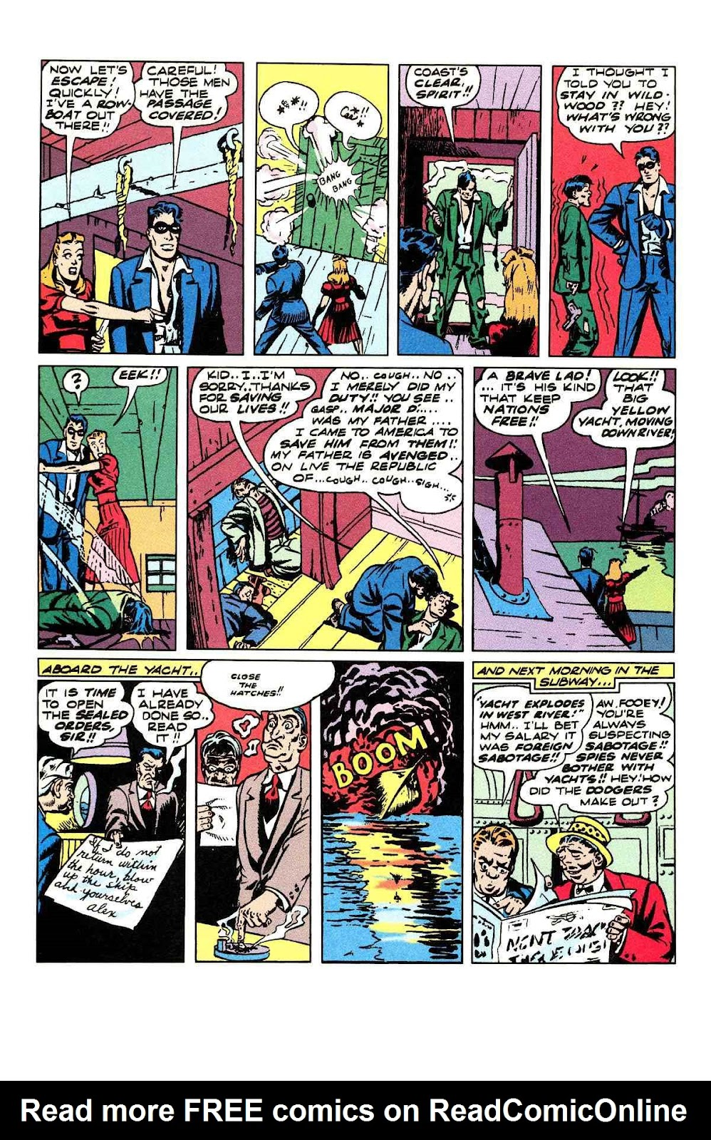 Read online Will Eisner's The Spirit Archives comic -  Issue # TPB 3 (Part 1) - 41