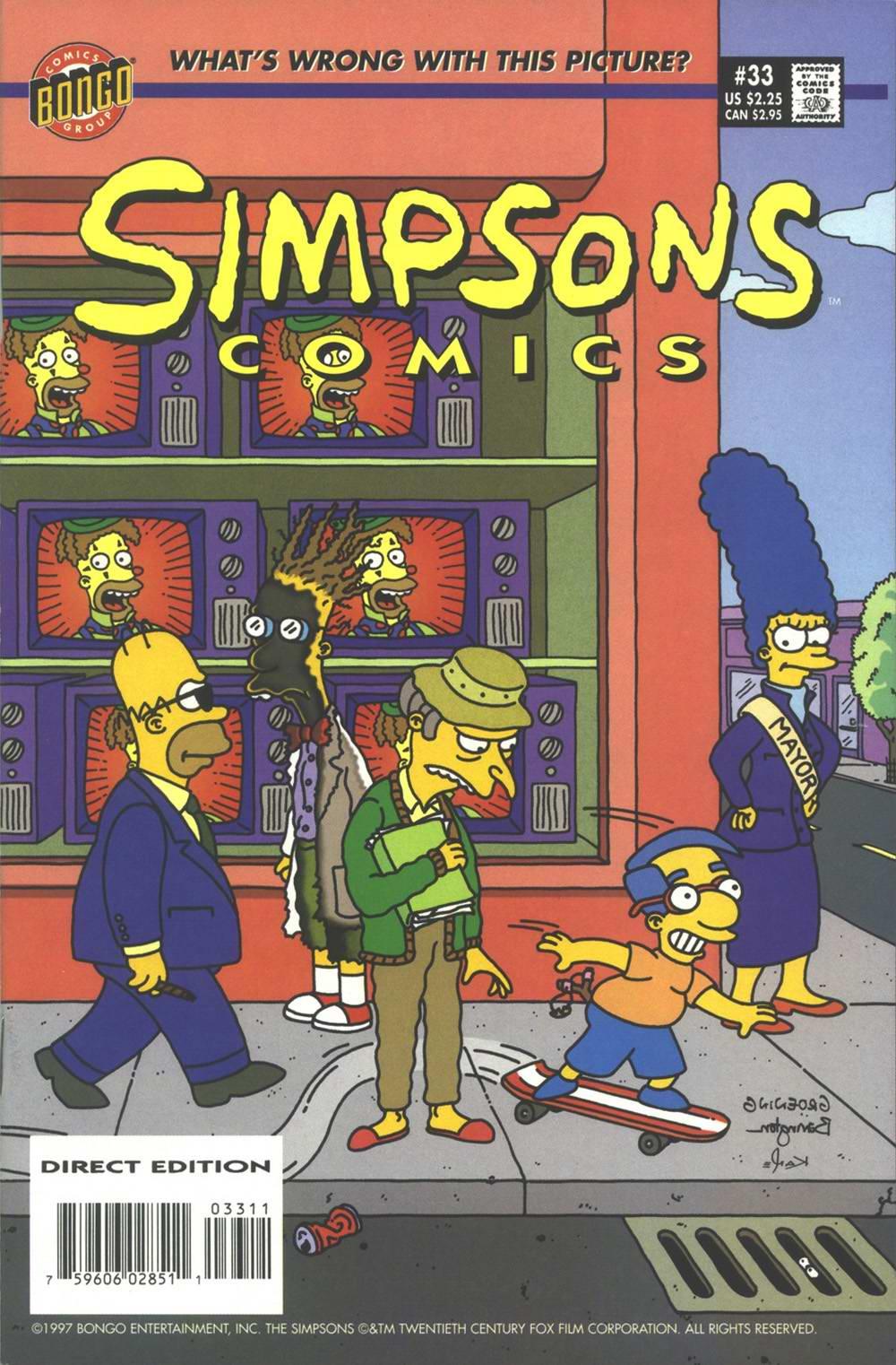 Read online Simpsons Comics comic -  Issue #33 - 1