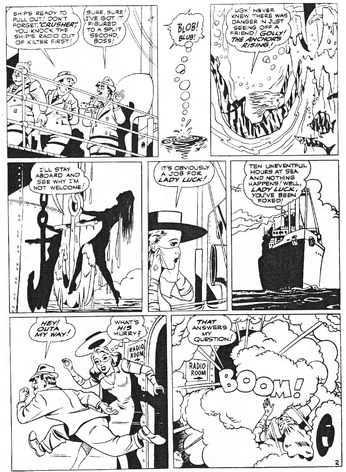 Read online Men of Mystery Comics comic -  Issue #81 - 60