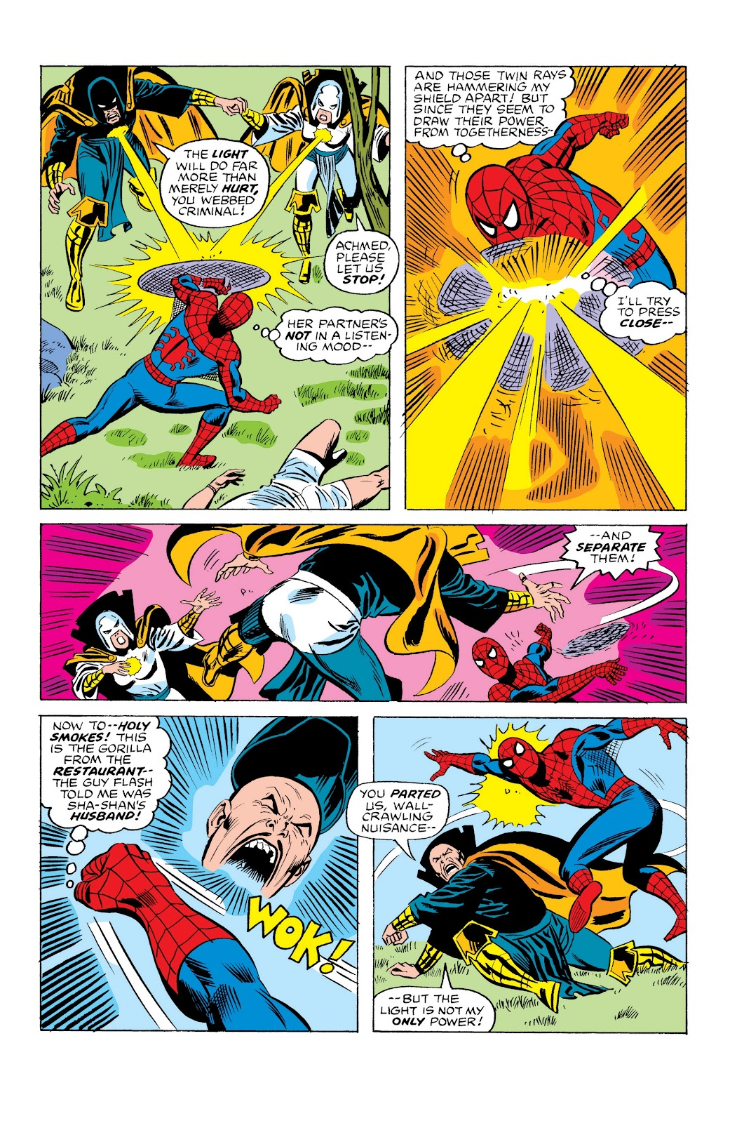 Read online Marvel Masterworks: The Spectacular Spider-Man comic -  Issue # TPB (Part 2) - 100