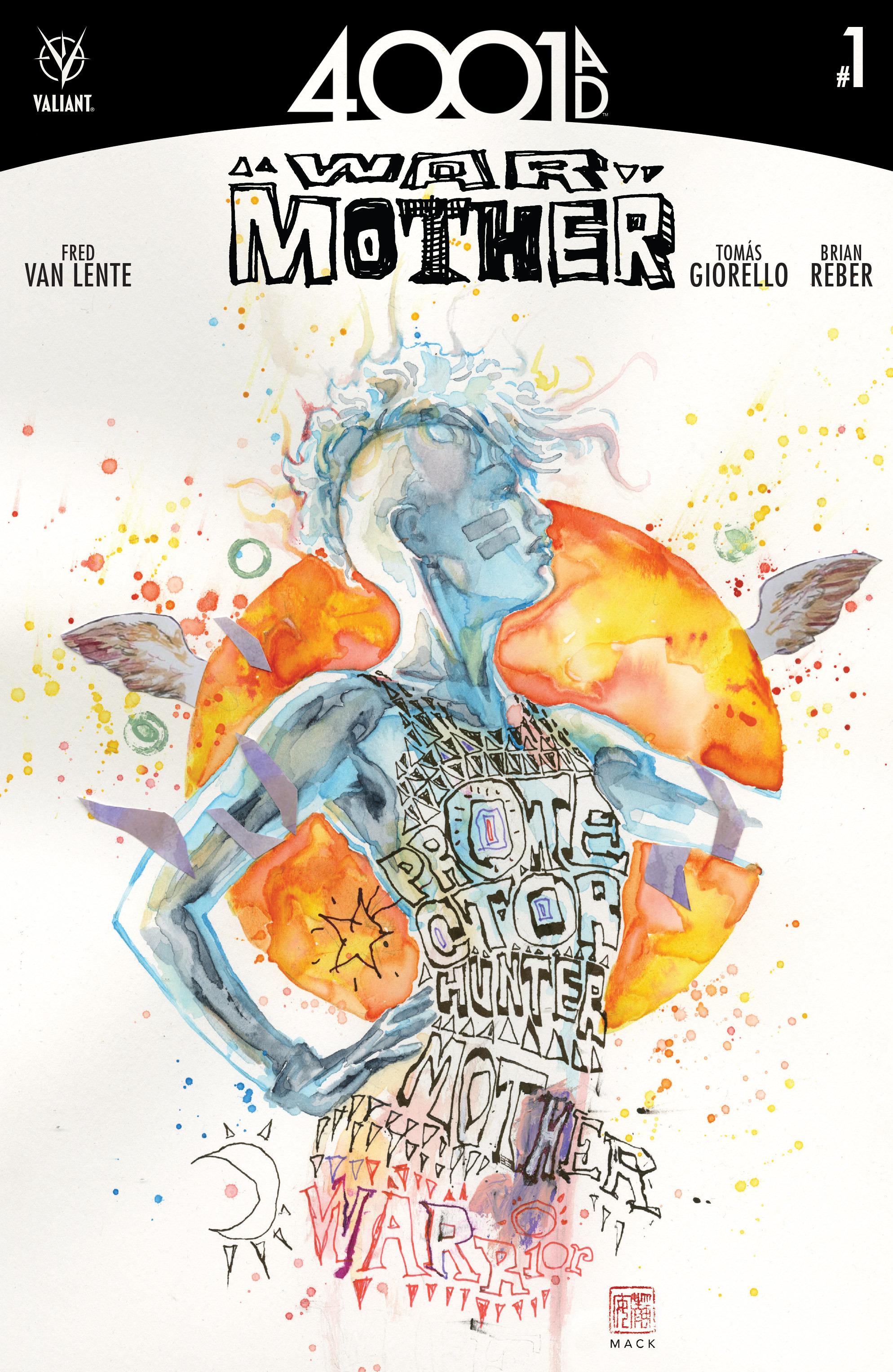 Read online 4001 A.D.: War Mother comic -  Issue #4001 A.D.: War Mother Full - 1