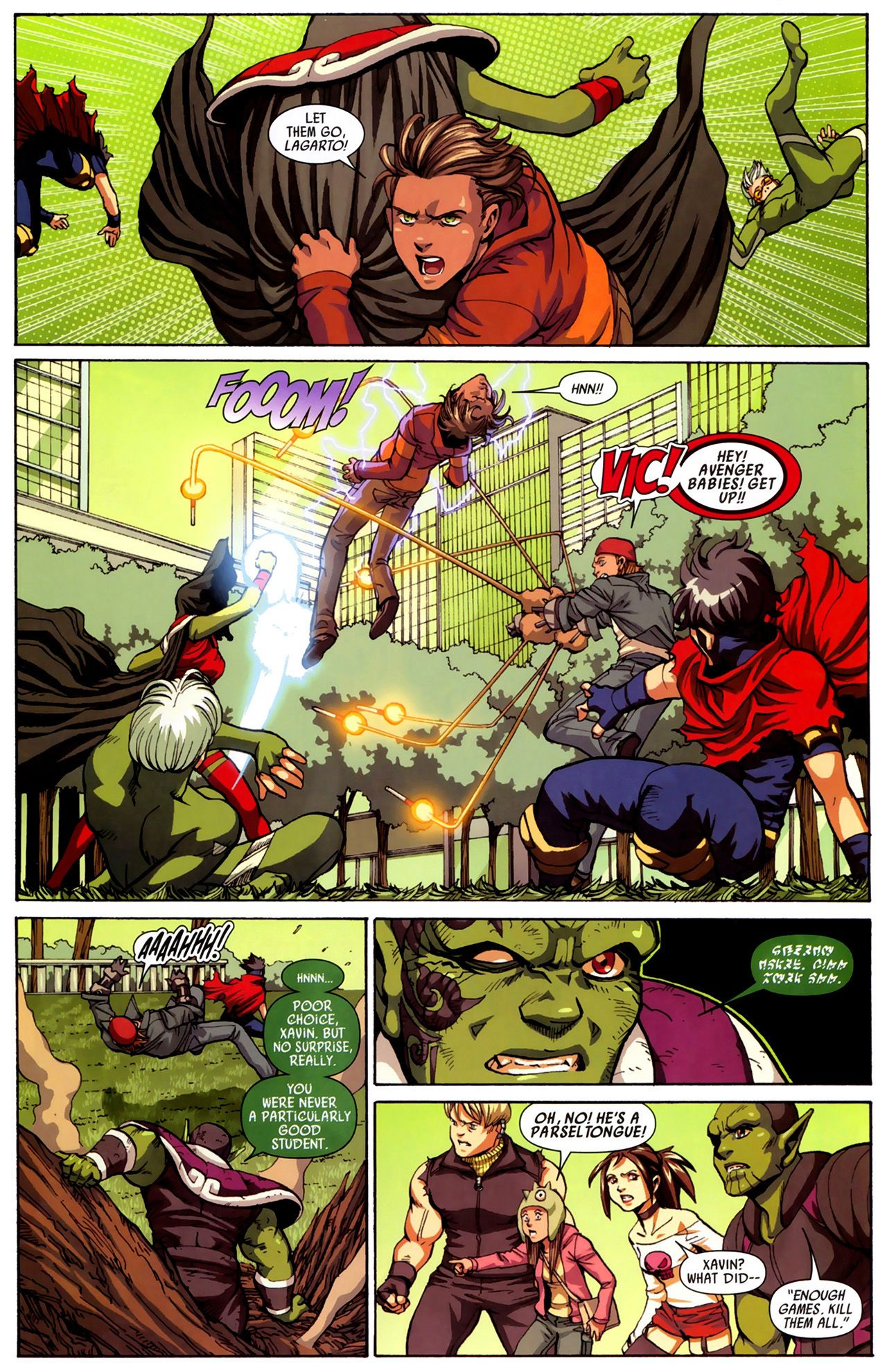 Read online Secret Invasion: Runaways/Young Avengers comic -  Issue #3 - 13