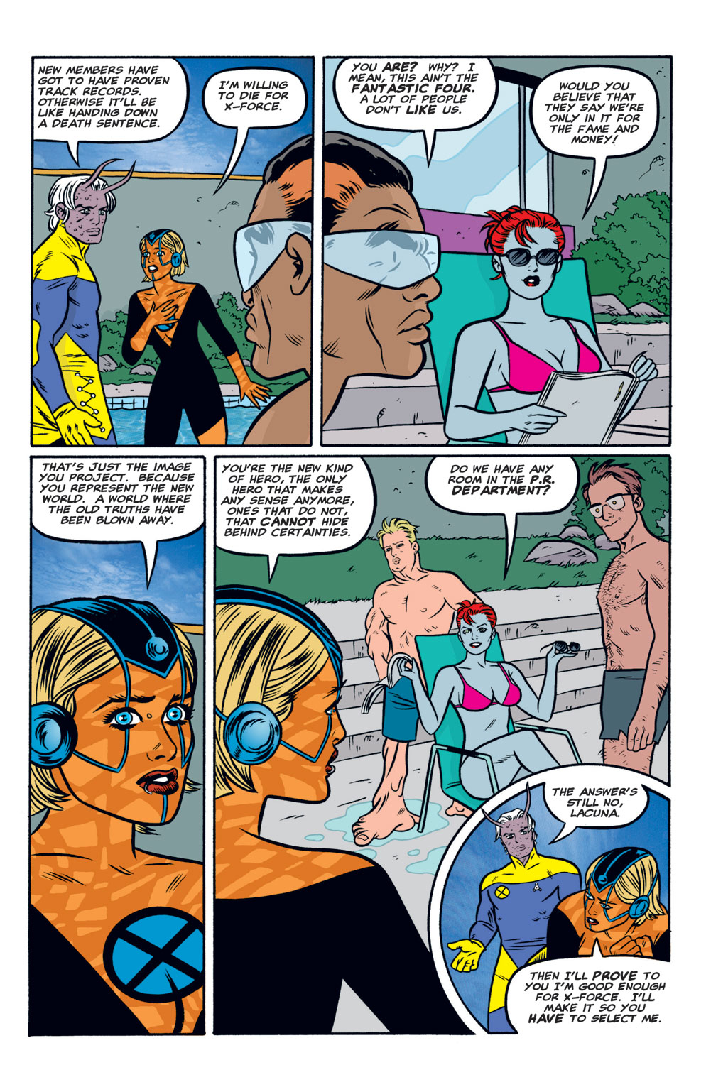 Read online X-Force (1991) comic -  Issue #122 - 5