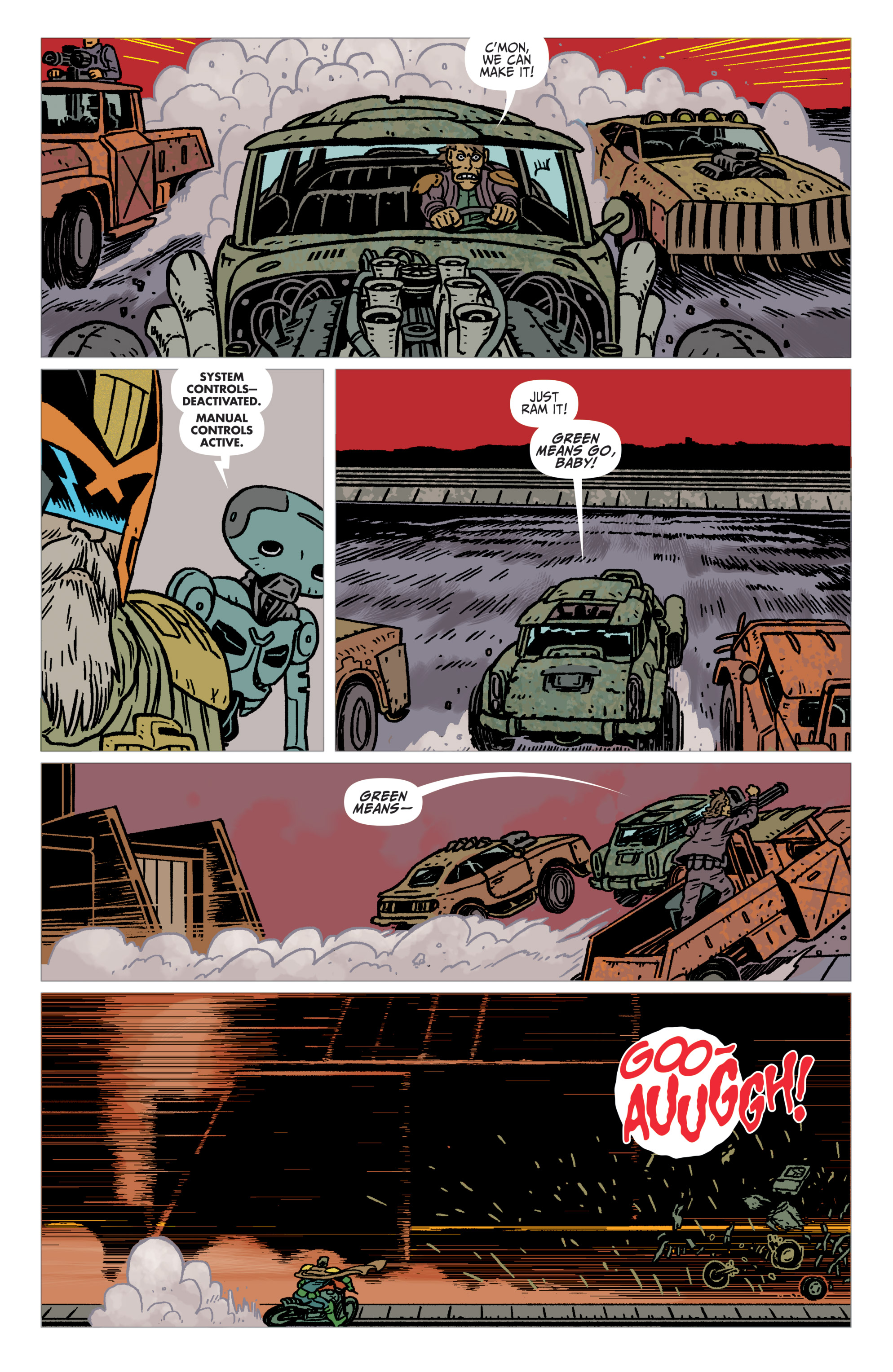 Read online Judge Dredd: The Blessed Earth comic -  Issue #2 - 23