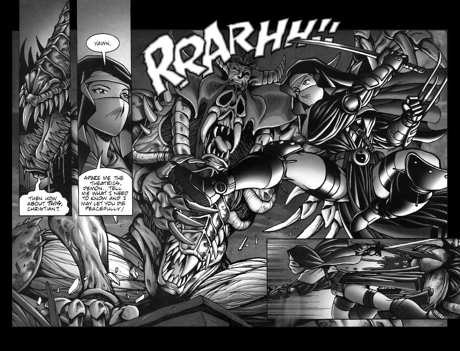 Warrior Nun Areala:  Dangerous Game Issue #3 #3 - English 30