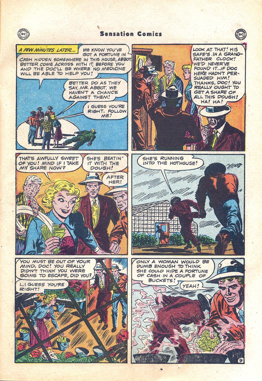 Read online Sensation (Mystery) Comics comic -  Issue #94 - 47