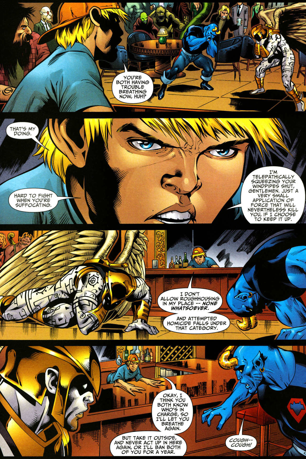 Read online Shadowpact comic -  Issue #14 - 4