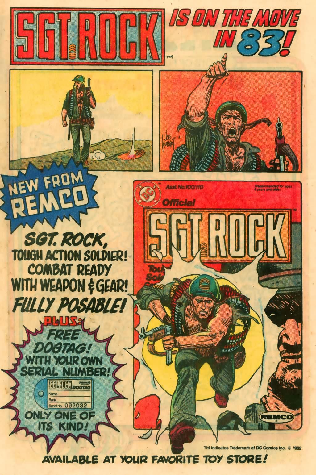 Read online Sgt. Rock comic -  Issue #374 - 23