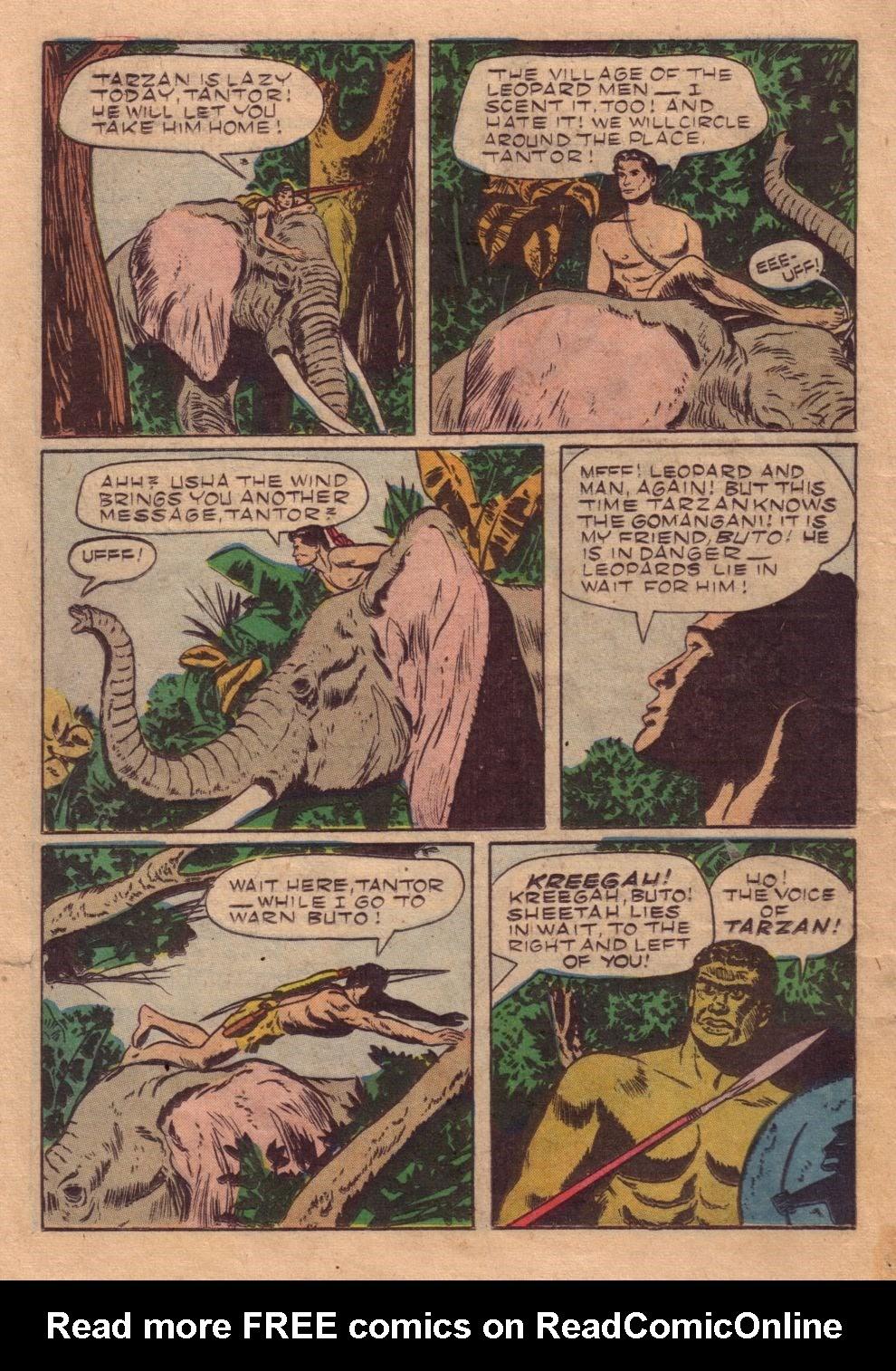 Tarzan (1948) issue 40 - Page 30