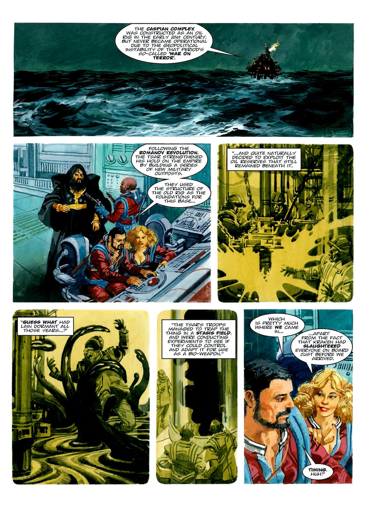 Read online Nikolai Dante comic -  Issue # TPB 6 - 188