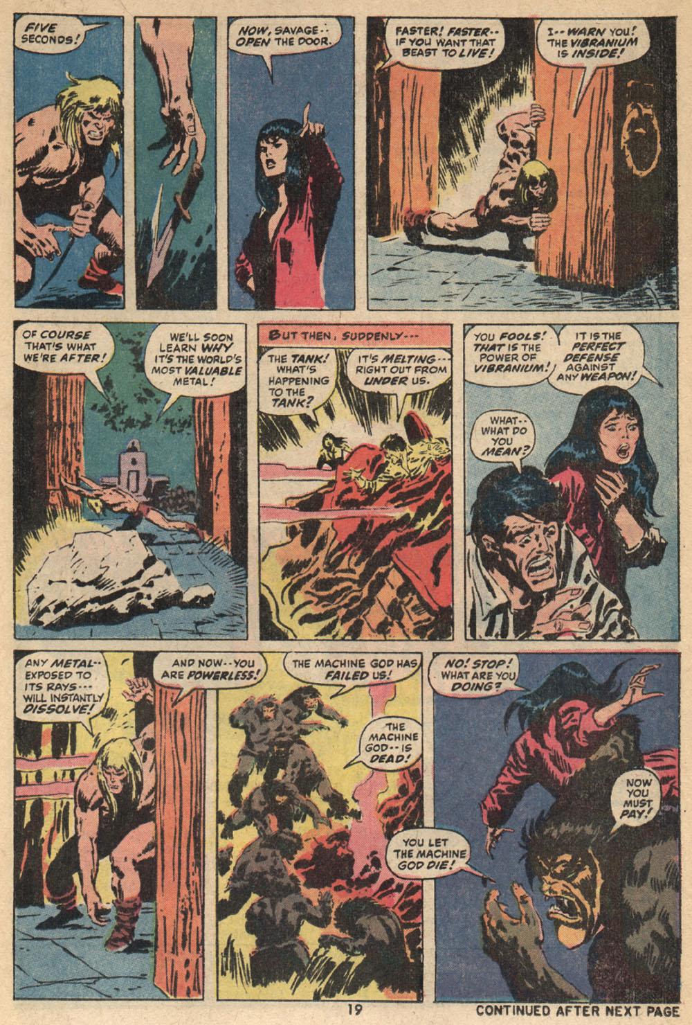 Read online Astonishing Tales (1970) comic -  Issue #14 - 14