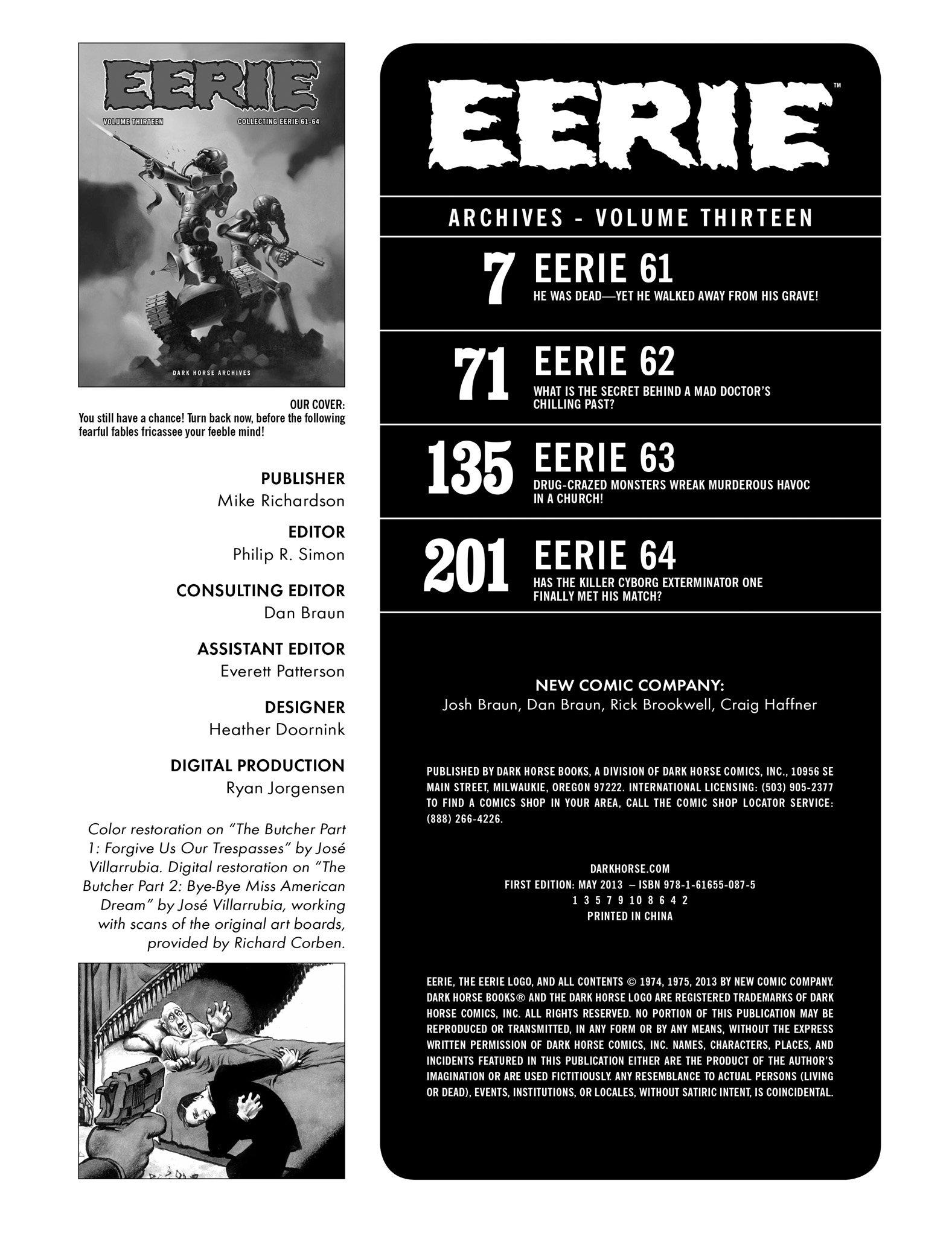 Read online Eerie Archives comic -  Issue # TPB 13 - 4