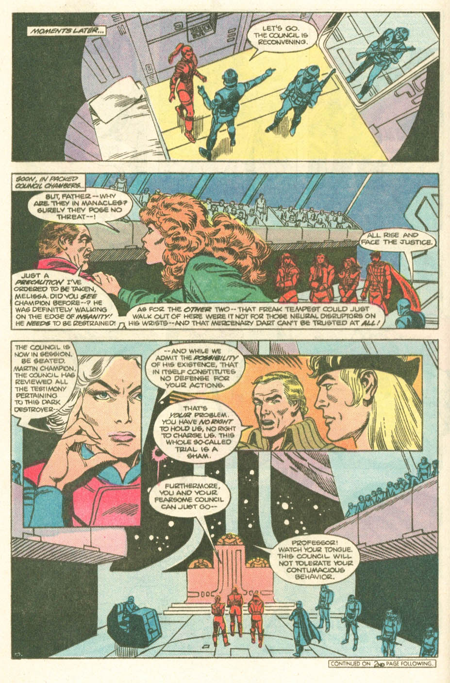 Read online Atari Force (1984) comic -  Issue #20 - 10