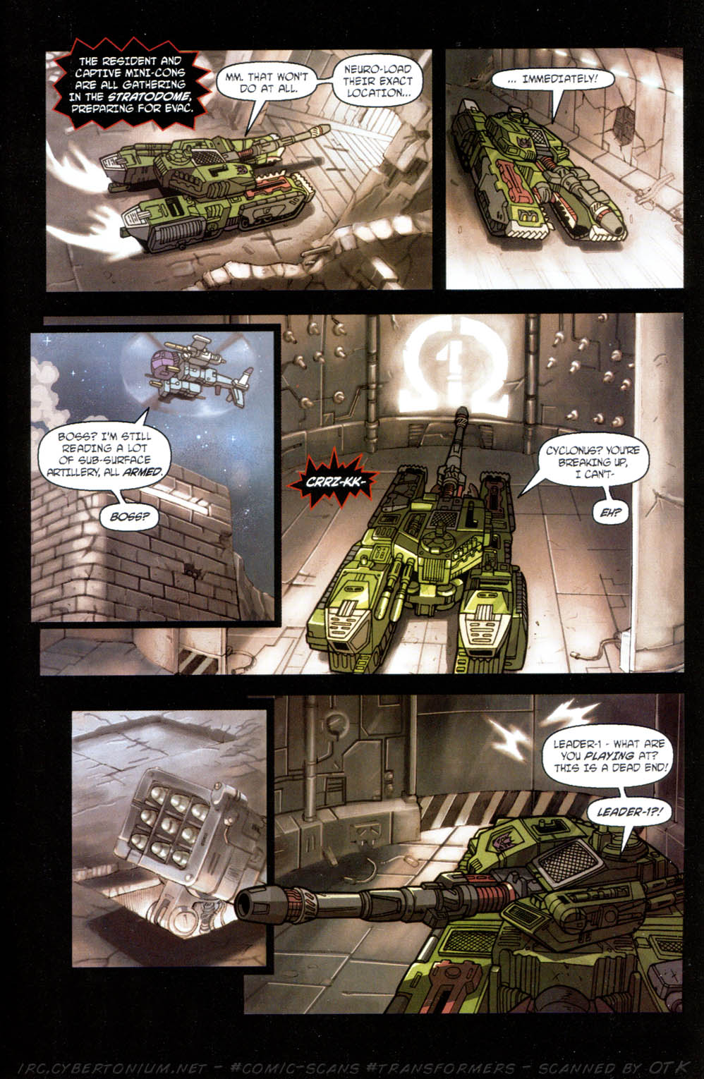 Read online Transformers Armada comic -  Issue #11 - 11