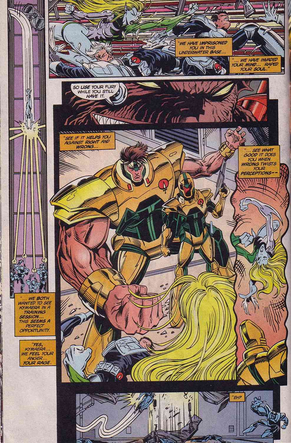 The New Warriors Issue #62 #66 - English 12