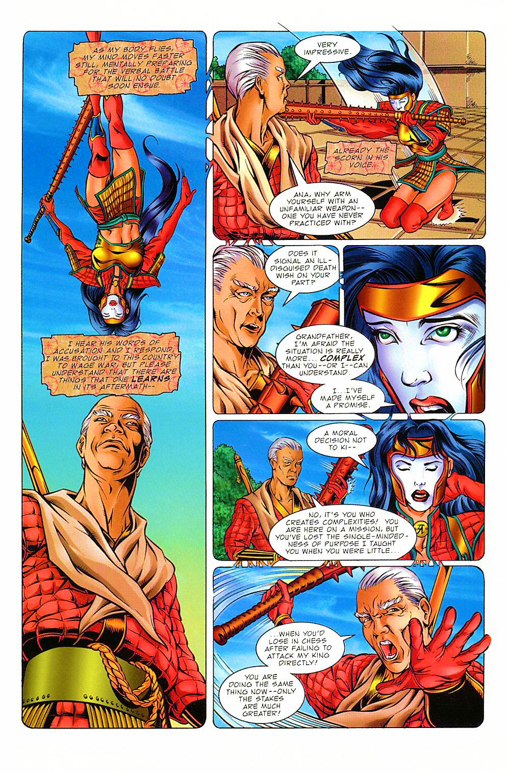 Read online Shi: The Way of the Warrior comic -  Issue #8 - 7